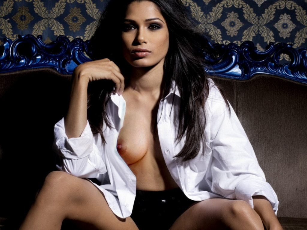 Freida Pinto big boobs