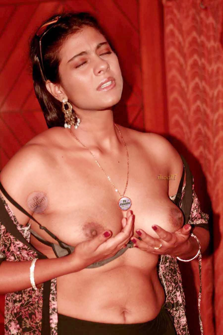 Hot Indian Actress Kajol Nude Pics Exposed-5950