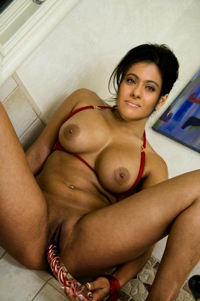 Hot Indian Actress Kajol Nude Pics Exposed-8023