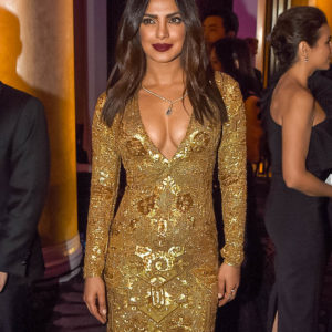 Priyanka Chopra boobs show