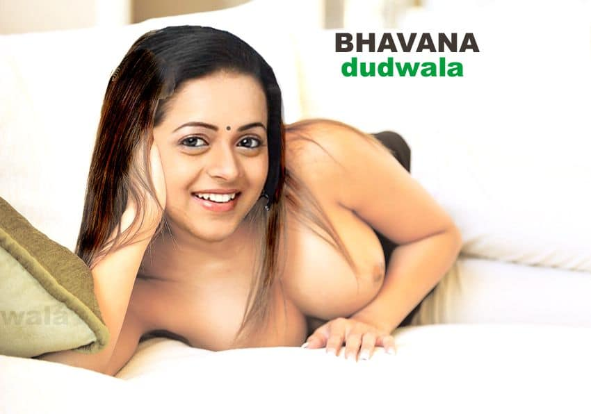 Bhavana boobs