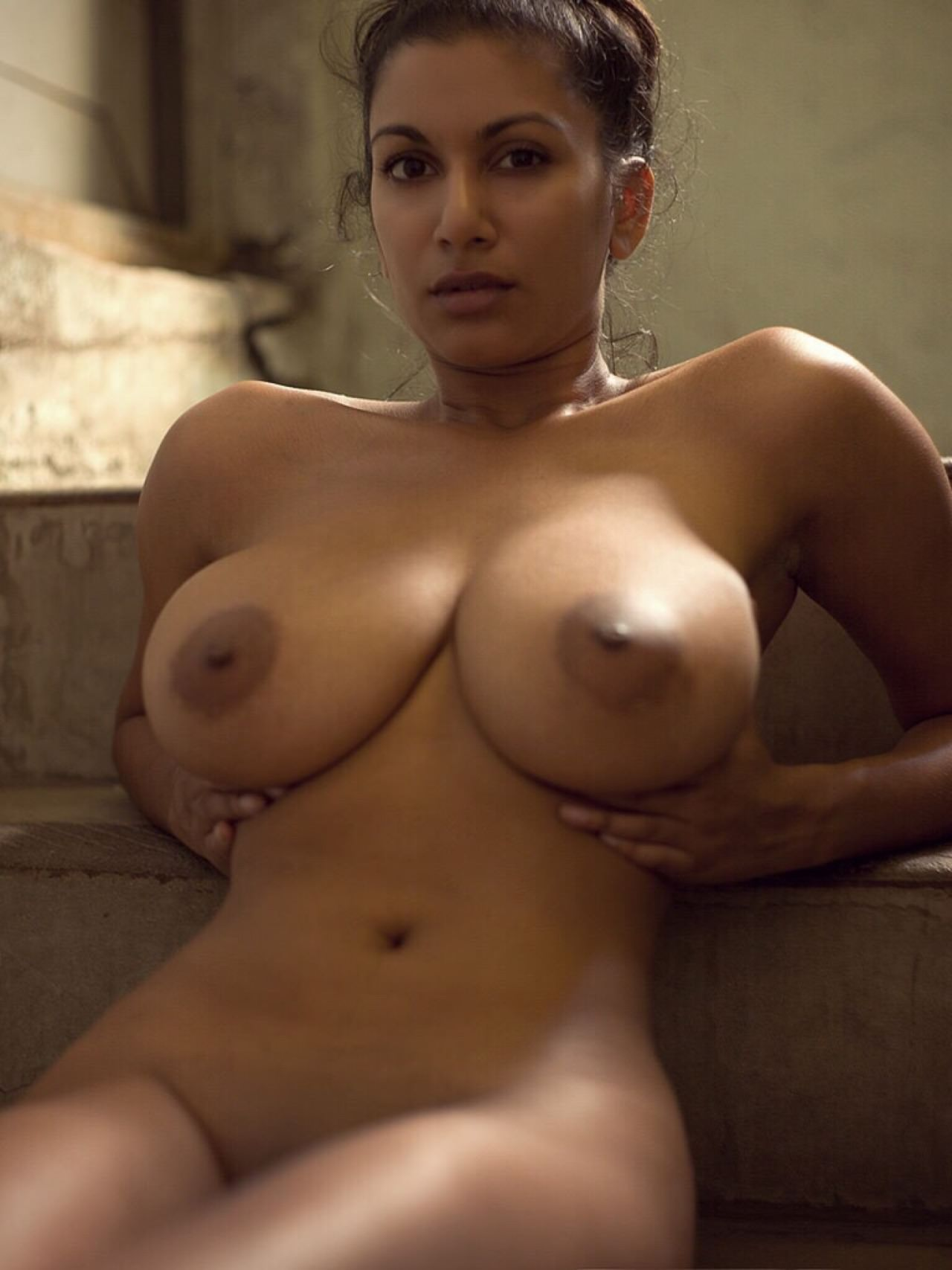 gorgeous naked black tits