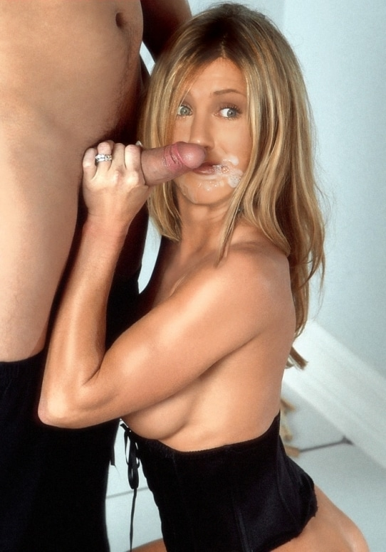 Jennifer Aniston cum facial