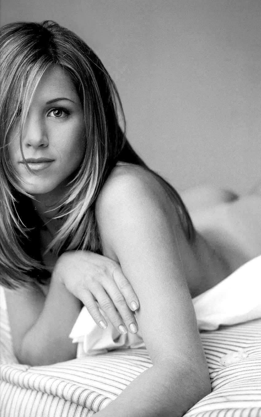 Jennifer Aniston riding hard