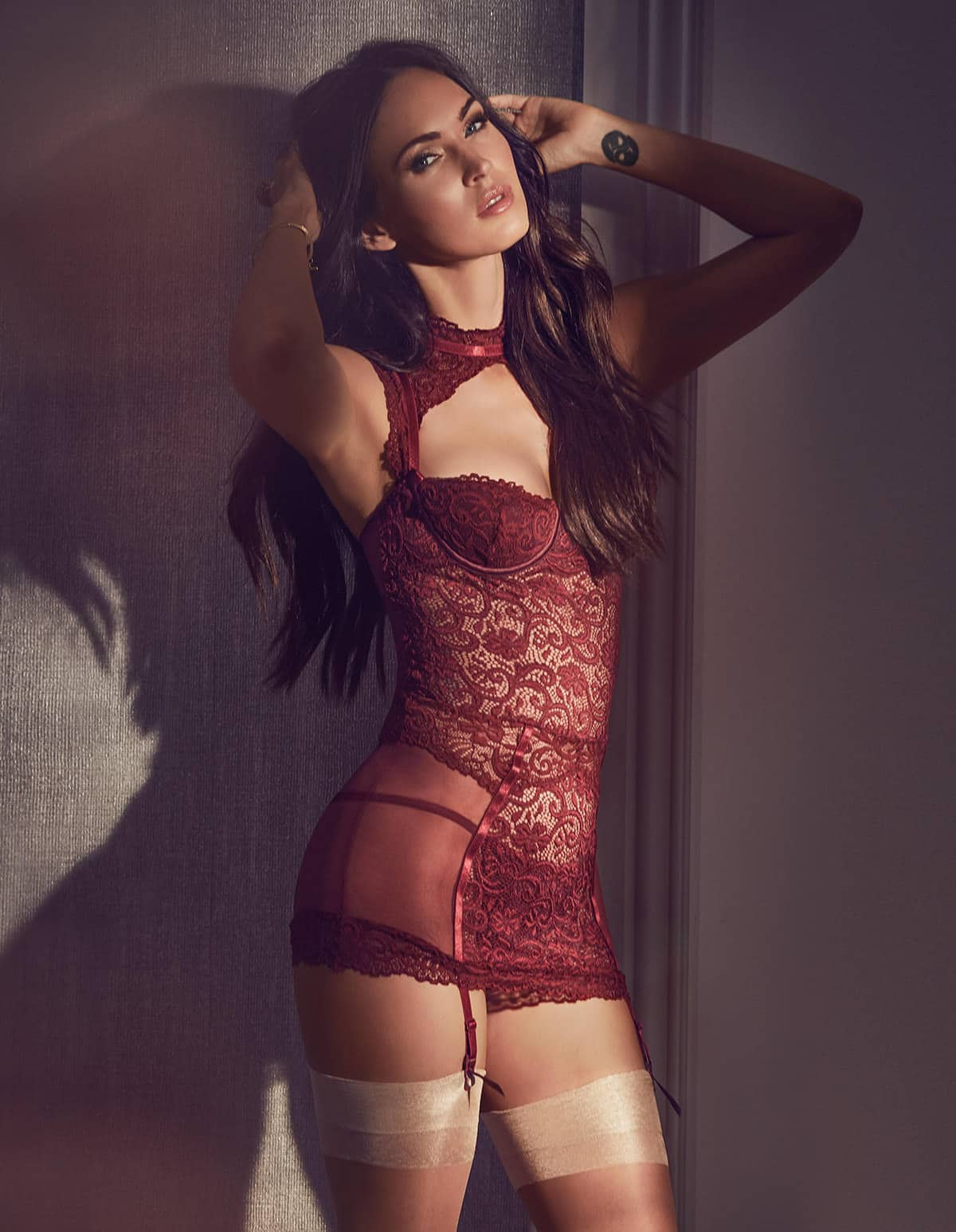 Megan Fox Fredricks of Hollywood lingerie