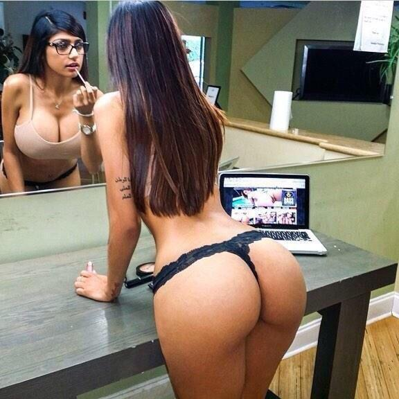 Mia Khalifa ass